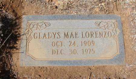 LORENZO, GLADYS MAE - Yavapai County, Arizona | GLADYS MAE LORENZO - Arizona Gravestone Photos