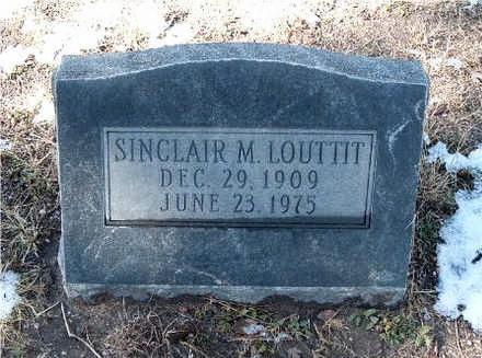 LOUTTIT, SINCLAIR - Yavapai County, Arizona   SINCLAIR LOUTTIT - Arizona Gravestone Photos