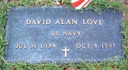LOVE, DAVID ALLEN - Yavapai County, Arizona | DAVID ALLEN LOVE - Arizona Gravestone Photos