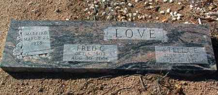 LOVE, FRED C. - Yavapai County, Arizona | FRED C. LOVE - Arizona Gravestone Photos