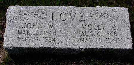 LOVE, MARY (MOLLIE) - Yavapai County, Arizona   MARY (MOLLIE) LOVE - Arizona Gravestone Photos