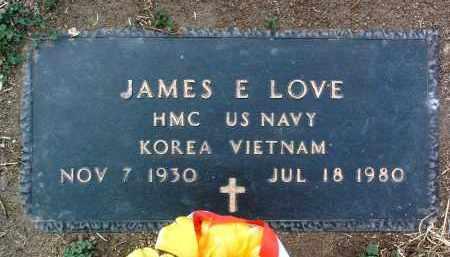 LOVE, JAMES ELMER - Yavapai County, Arizona | JAMES ELMER LOVE - Arizona Gravestone Photos