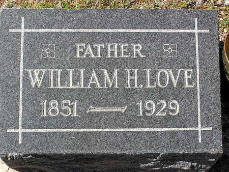 LOVE, WILLIAM HENDERSON - Yavapai County, Arizona | WILLIAM HENDERSON LOVE - Arizona Gravestone Photos