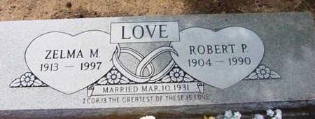 LOVE, ZELMA M. - Yavapai County, Arizona   ZELMA M. LOVE - Arizona Gravestone Photos