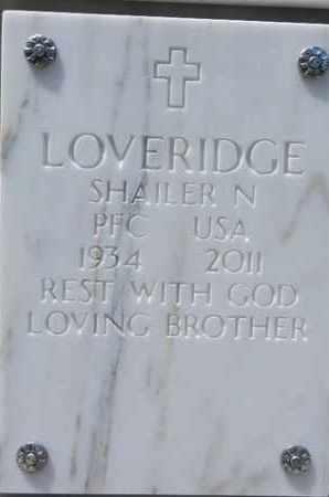 LOVERIDGE, SHAILER N. - Yavapai County, Arizona | SHAILER N. LOVERIDGE - Arizona Gravestone Photos