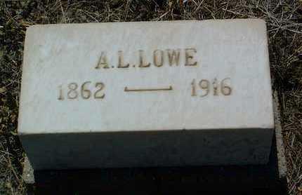 LOWE, ALBERT LOUIS - Yavapai County, Arizona   ALBERT LOUIS LOWE - Arizona Gravestone Photos