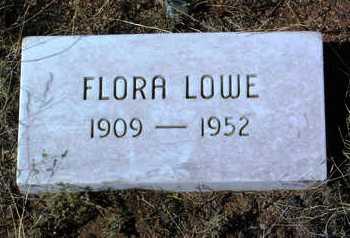 LOWE, FLORA - Yavapai County, Arizona | FLORA LOWE - Arizona Gravestone Photos