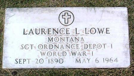 LOWE, LAURENCE L. - Yavapai County, Arizona | LAURENCE L. LOWE - Arizona Gravestone Photos