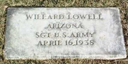 LOWELL, WILLARD - Yavapai County, Arizona | WILLARD LOWELL - Arizona Gravestone Photos
