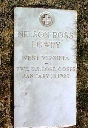 LOWRY, NELSON ROSS - Yavapai County, Arizona | NELSON ROSS LOWRY - Arizona Gravestone Photos
