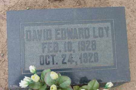 LOY, DAVID EDWARD - Yavapai County, Arizona | DAVID EDWARD LOY - Arizona Gravestone Photos
