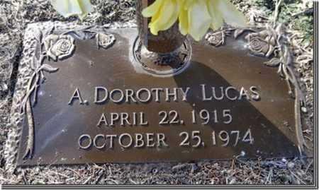 LUCAS, ANNA DOROTHY - Yavapai County, Arizona | ANNA DOROTHY LUCAS - Arizona Gravestone Photos