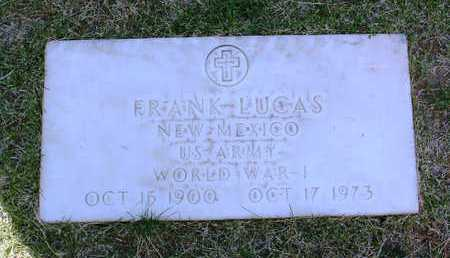 LUCAS, FRANK - Yavapai County, Arizona | FRANK LUCAS - Arizona Gravestone Photos