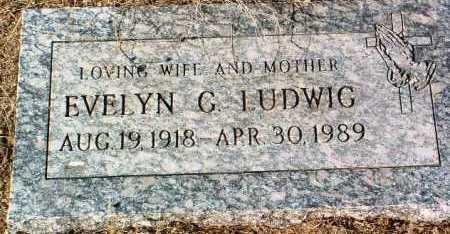 LUDWIG, EVELYN G. - Yavapai County, Arizona   EVELYN G. LUDWIG - Arizona Gravestone Photos