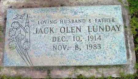 LUNDAY, JACK OLEN - Yavapai County, Arizona | JACK OLEN LUNDAY - Arizona Gravestone Photos