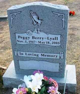 BERRY-LYALL, PEGGY - Yavapai County, Arizona | PEGGY BERRY-LYALL - Arizona Gravestone Photos