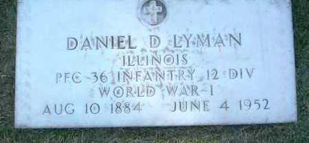 LYMAN, DANIEL D. - Yavapai County, Arizona   DANIEL D. LYMAN - Arizona Gravestone Photos