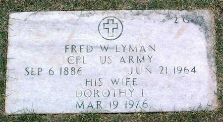 ADAY LYMAN, DOROTHY LILLIAN - Yavapai County, Arizona   DOROTHY LILLIAN ADAY LYMAN - Arizona Gravestone Photos