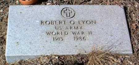 LYON, ROBERT O. - Yavapai County, Arizona | ROBERT O. LYON - Arizona Gravestone Photos
