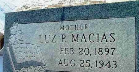 MACIAS, LUZ P. - Yavapai County, Arizona | LUZ P. MACIAS - Arizona Gravestone Photos
