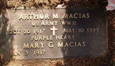MACIAS, MARY G. - Yavapai County, Arizona | MARY G. MACIAS - Arizona Gravestone Photos