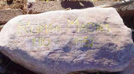 MACIAS, ROMAN - Yavapai County, Arizona | ROMAN MACIAS - Arizona Gravestone Photos