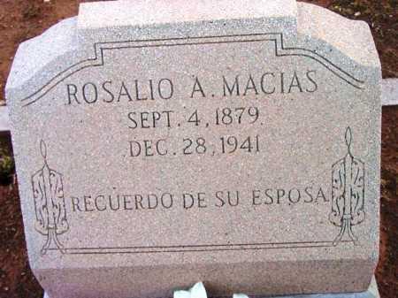 MACIAS, ROSALIO A. - Yavapai County, Arizona | ROSALIO A. MACIAS - Arizona Gravestone Photos