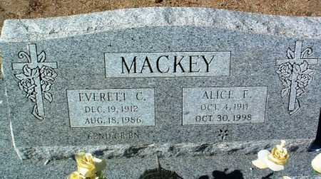 MACKEY, ALICE F. - Yavapai County, Arizona | ALICE F. MACKEY - Arizona Gravestone Photos
