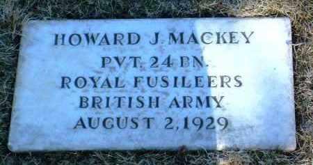 MACKEY, HOWARD J. - Yavapai County, Arizona   HOWARD J. MACKEY - Arizona Gravestone Photos