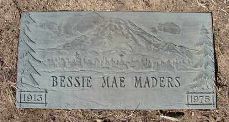 JOHNSON MADERS, BESSIE - Yavapai County, Arizona | BESSIE JOHNSON MADERS - Arizona Gravestone Photos