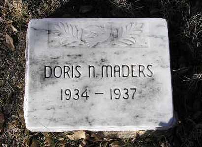 MADERS, DORIS NILA - Yavapai County, Arizona | DORIS NILA MADERS - Arizona Gravestone Photos