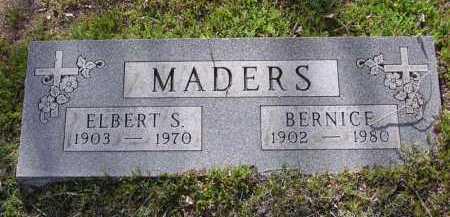 MADERS, BERNICE - Yavapai County, Arizona | BERNICE MADERS - Arizona Gravestone Photos