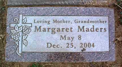 MADERS, MARGARET MARY - Yavapai County, Arizona | MARGARET MARY MADERS - Arizona Gravestone Photos