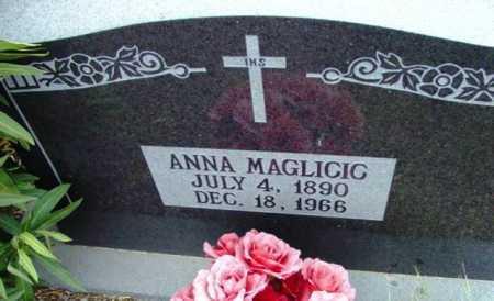 KAIZLARICH MAGLICIC, ANNA - Yavapai County, Arizona | ANNA KAIZLARICH MAGLICIC - Arizona Gravestone Photos