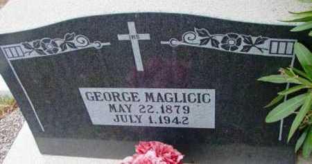 MAGLICIC, GEORGE - Yavapai County, Arizona | GEORGE MAGLICIC - Arizona Gravestone Photos