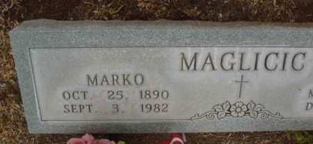 MAGLICIC, MARKO - Yavapai County, Arizona   MARKO MAGLICIC - Arizona Gravestone Photos