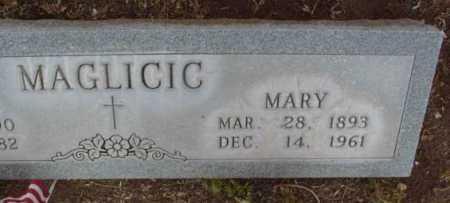 MAGLICIC, MARY / MARA - Yavapai County, Arizona   MARY / MARA MAGLICIC - Arizona Gravestone Photos