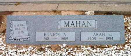 MAHAN, ARAH EDWARD - Yavapai County, Arizona | ARAH EDWARD MAHAN - Arizona Gravestone Photos