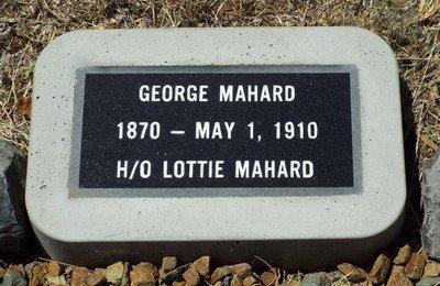MAHARD, GEORGE - Yavapai County, Arizona | GEORGE MAHARD - Arizona Gravestone Photos