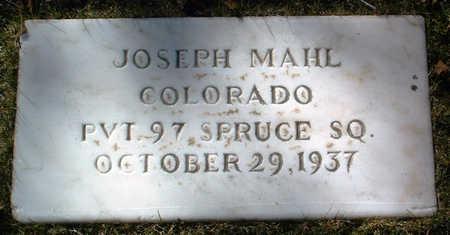 MAHL, JOSEPH - Yavapai County, Arizona | JOSEPH MAHL - Arizona Gravestone Photos