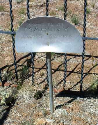 MAHONY, ROBERT ABBOTT - Yavapai County, Arizona | ROBERT ABBOTT MAHONY - Arizona Gravestone Photos