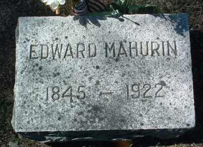 MAHURIN, EDWARD - Yavapai County, Arizona | EDWARD MAHURIN - Arizona Gravestone Photos
