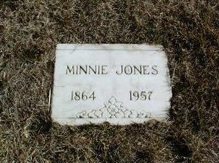 MAISER JONES, MINNIE - Yavapai County, Arizona | MINNIE MAISER JONES - Arizona Gravestone Photos