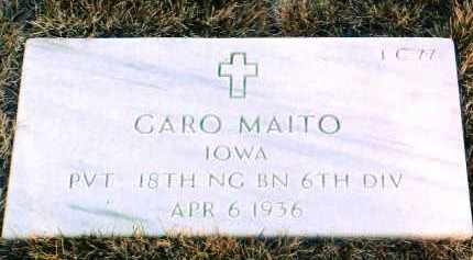 MAITO, GARO - Yavapai County, Arizona | GARO MAITO - Arizona Gravestone Photos