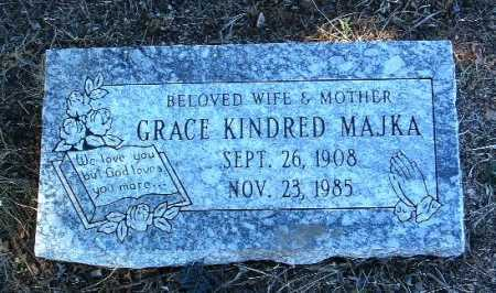 KINDRED MAJKA, GRACE - Yavapai County, Arizona | GRACE KINDRED MAJKA - Arizona Gravestone Photos