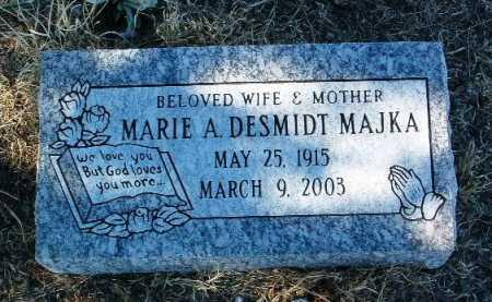 DESMIDT MAJKA, MARIE A. - Yavapai County, Arizona | MARIE A. DESMIDT MAJKA - Arizona Gravestone Photos
