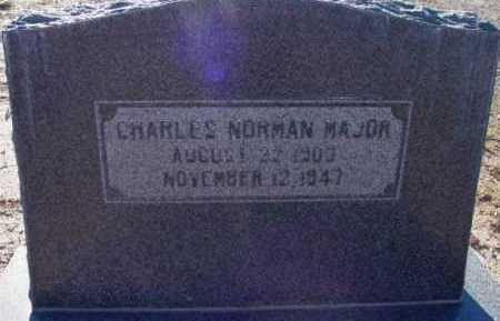 MAJOR, CHARLES NORMAN - Yavapai County, Arizona | CHARLES NORMAN MAJOR - Arizona Gravestone Photos