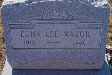 MAJOR, EDNA LEE - Yavapai County, Arizona   EDNA LEE MAJOR - Arizona Gravestone Photos