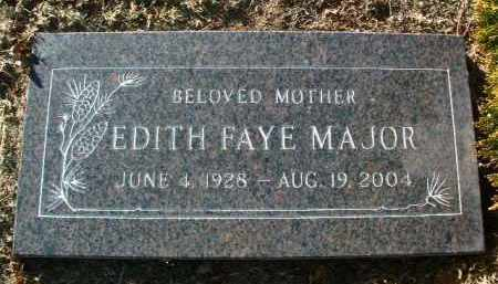MAJOR, EDITH FAYE - Yavapai County, Arizona | EDITH FAYE MAJOR - Arizona Gravestone Photos