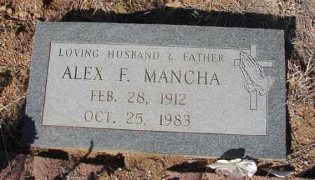 MANCHA, ALEX F. - Yavapai County, Arizona   ALEX F. MANCHA - Arizona Gravestone Photos